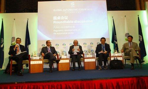 圆桌会议:汽车行业法规的发展