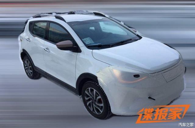 江淮大众首款电动车谍照曝光 定位为小型SUV