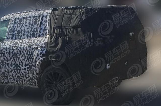 Jeep全新SUV云图谍照 造型硬朗/7座结构