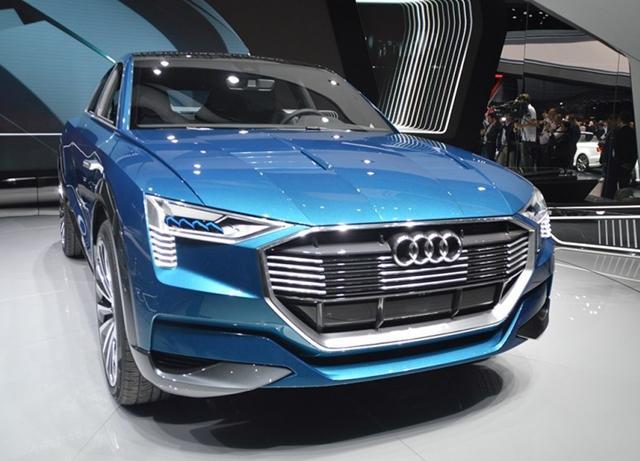 奥迪首款电动SUV将2018年发布 续航超500km