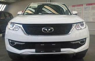 凯翼X3 SUV实车曝光 预计明年上半年上市