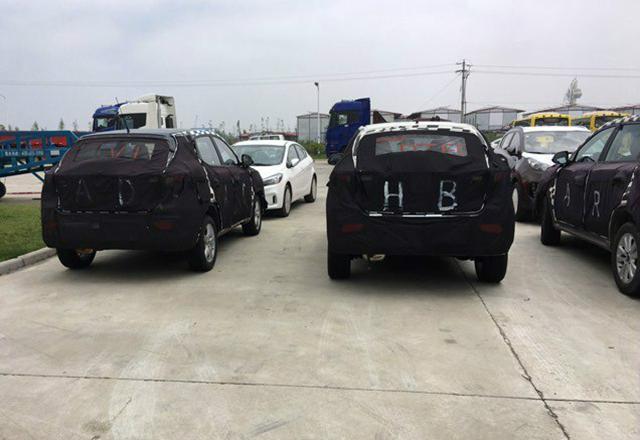 疑似荣威全新小型SUV谍照曝光,未来或定名为荣威RX3-扎堆进入小高清图片