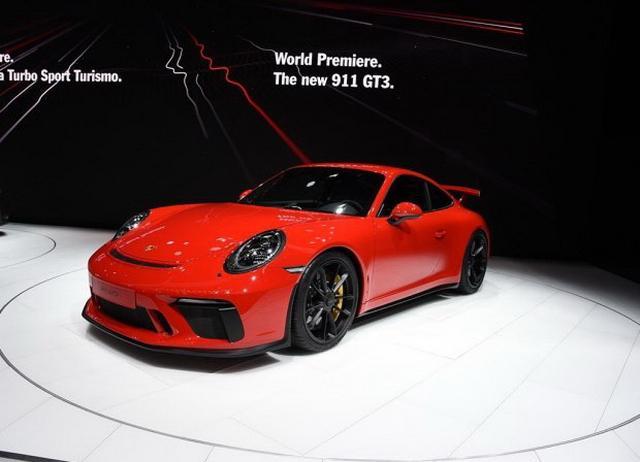 新911 GT3海内首秀 保时捷表态成都车展