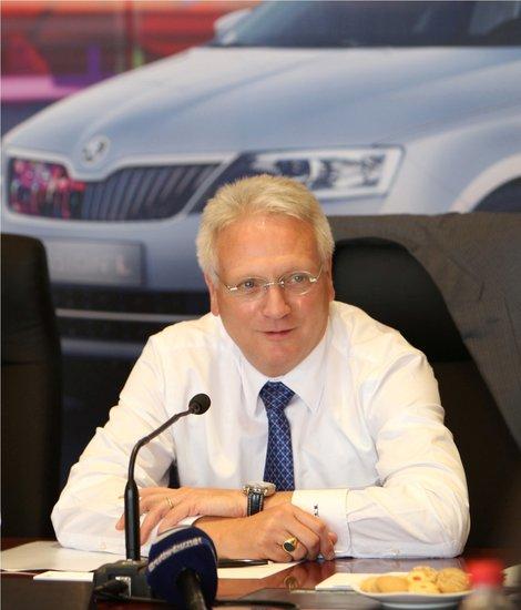 范安德:斯柯达进口车谈判顺利 或明年上市