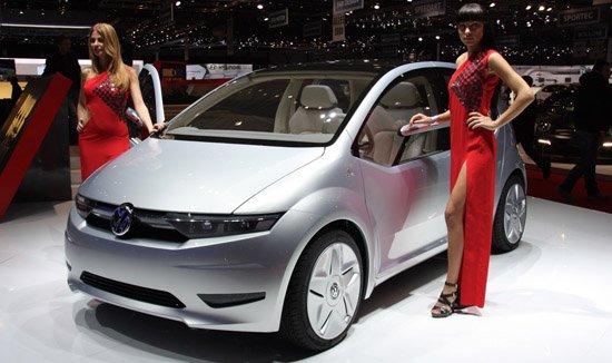 未来车型预演 大众集团五款概念车齐首发