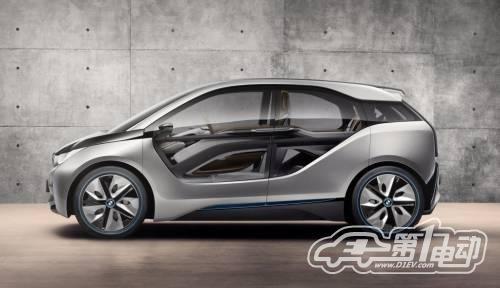宝马i4概念车亮相洛杉矶车展 基于i3打造