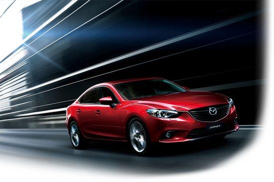 马自达全新B级旗舰车型Mazda ATENZA6月上市