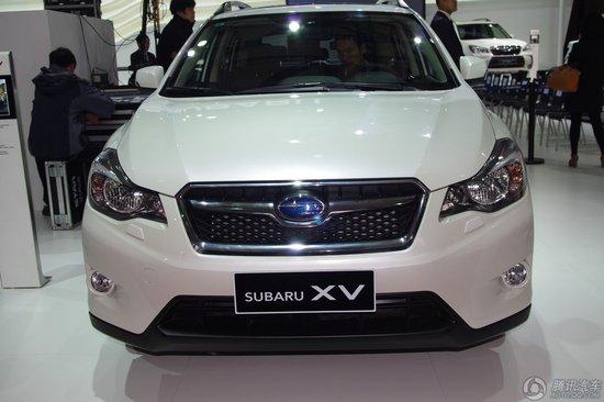 斯巴鲁运动车型上海车展隆重亮相