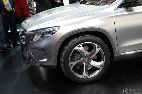 奔驰全新紧凑车GLA概念车亮相上海车展