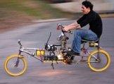世界上最给力改装自行车