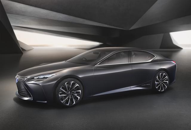 雷克萨斯LF-FC概念车全球首发 全新LS雏形