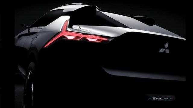 最强轿跑SUV 三菱e-Evolution观点车曝光