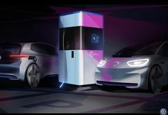 不怕没充电桩 大众推出移动快速充电站