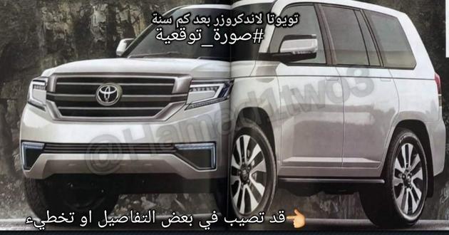 丰田全新一代兰德酷路泽假想图 或搭载3.4L V6发动机