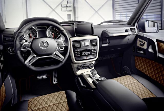 奔驰推出新款G系列车型 G500换装4.0T V8