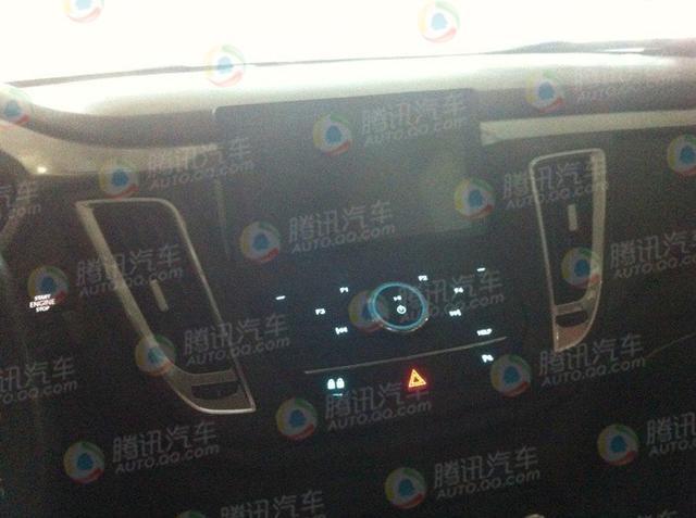东南DX7博朗内饰谍照 借鉴现代平台技术高清图片