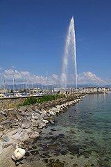 瑞士日内瓦大喷泉(Jet d'Eau)