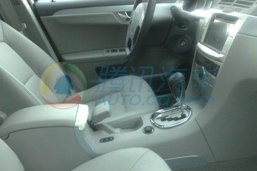 瑞麒G5 2.0DVVT自动档车型曝光 或搭配5AT