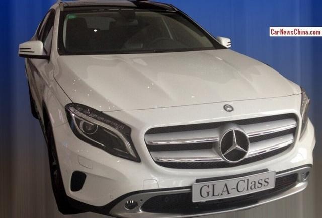 北京奔驰GLA 220登工信部新车目录 5月上市