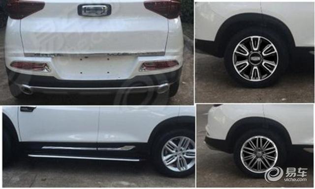 瑞虎7兄弟车型 观致Model Young申报图曝光