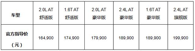 雪佛兰全新迈锐宝正式上市 售价16.49万-19.99万
