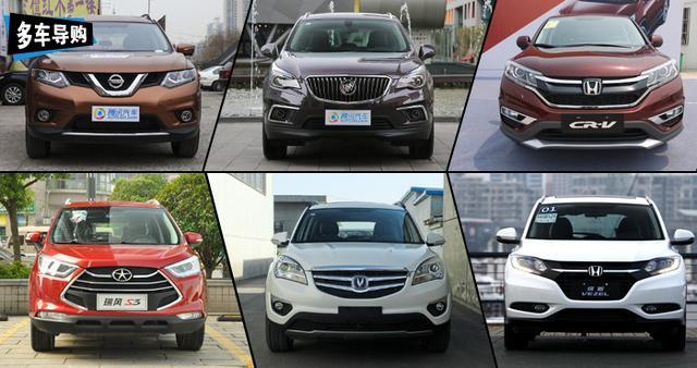 上半年热销SUV车型推荐 日系/小型SUV崛起