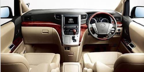 搭载3.5L发动机 丰田阿尔法或10月上市
