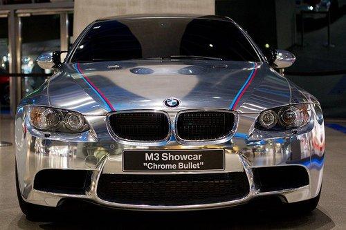 全镀铬M3亮相宝马德国展厅 银光再次闪耀