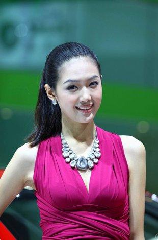 2010中国第十三届成都车展车模