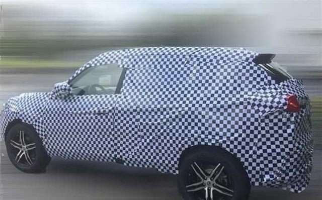 力帆全新SUV谍照曝光 有望今年上市