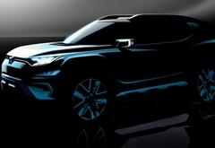 双龙XAVL概念车预告图发布 竞争柯迪亚克