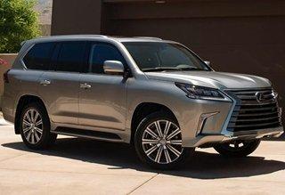 《大CAR秀》:日系顶级SUV!雷克萨斯新LX