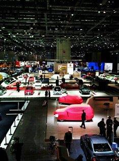 日内瓦车展展厅