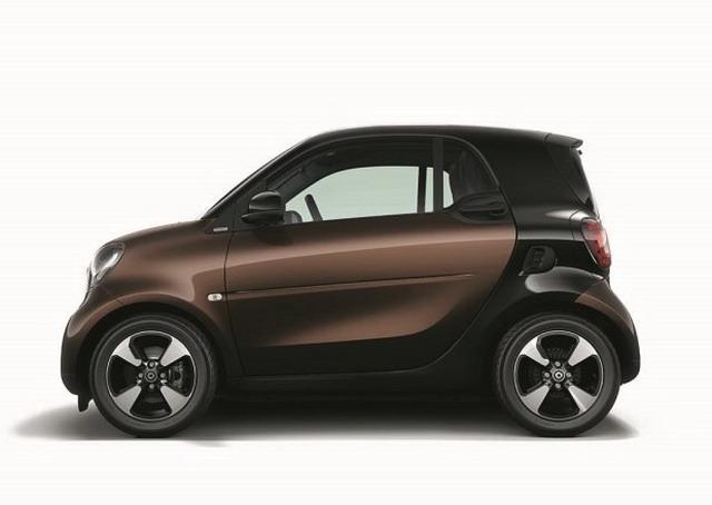 smart fortwo特别版上市 售价13.9888万元起