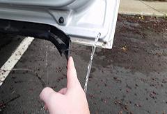 汽车的这几个排水口你都知道在哪吗