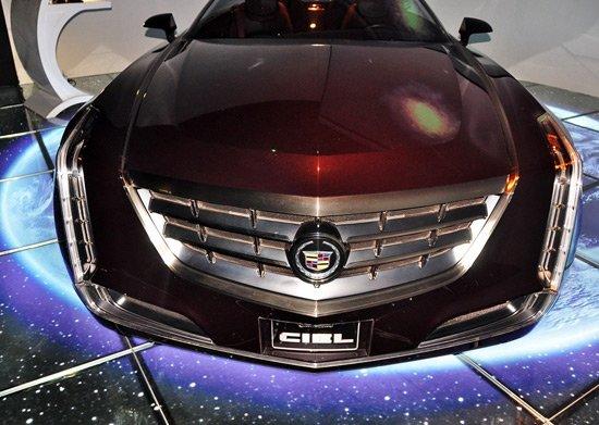 凯迪拉克Ciel敞篷概念车北京车展亚洲首发