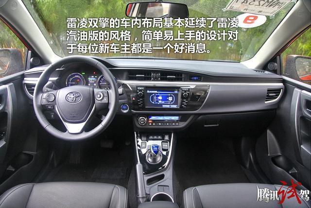 雷凌双擎购车手册 推荐顶配1.8H V豪华版
