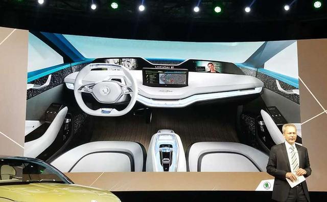 斯柯达发布VISION E概念车 三级自动驾驶