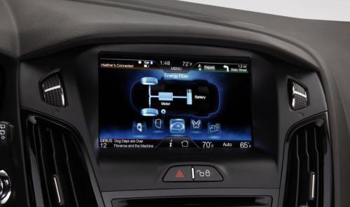 福特福克斯EV电动车亮相 配微软人机交互