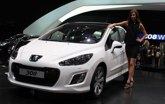 标致改款308发布 今年有望国产替代307