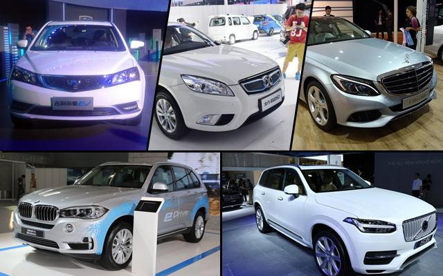 广州车展新能源车汇总 自主品牌大幅提高