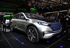 奔驰投资百亿美元 计划2025年前推出10余款电动汽车