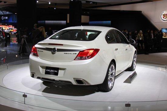 2012款君威GS北美车展亮相 未来或将国产