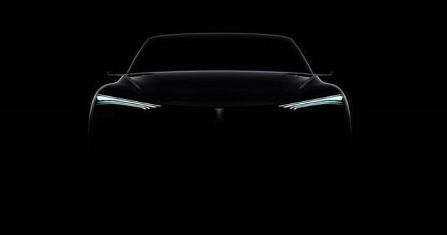 WEY全新电动概念SUV预告图 将北京车展亮相