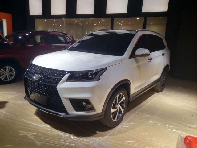7座SUV也玩轻奢风 北汽幻速S7成都车展首发
