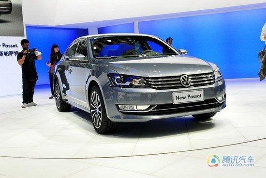 新帕萨特1.4T成都车展首发 预售20.88万元