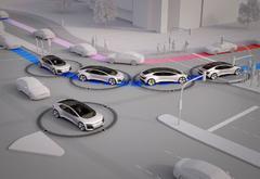 奥迪宣称未来城市交通将不再拥堵 自动驾驶车辆占比至少达40%
