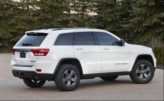 [海外车讯]Jeep大切诺基特别版新车曝光