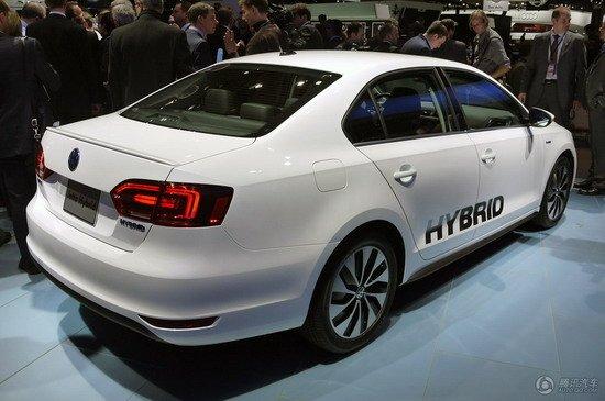 [新车解析]Jetta混动版车型北美车展发布