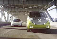 """""""微巴""""重生:大众纯电自动驾驶车"""